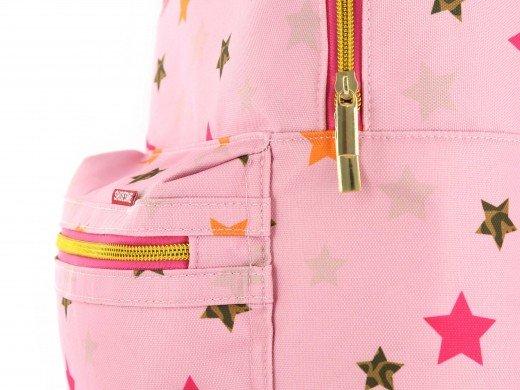 00c357d7734 Shoesme lichtroze rugzak met sterrenprint - Coco Kidswear
