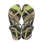 ipanema-sandalen-met-print-kaki-goud-kaki-7909510800922